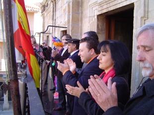 De Pregonero en el Carnaval de Astorga, febrero de 2008