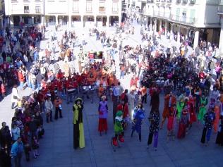 En el Pregón de Carnaval de Astorga, febrero de 2008