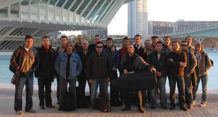 En el Palau de les Arts Reina Sofia de Valencia. Banda Interna de la ópera Don Carlo de Verdi, diciembre de 2007