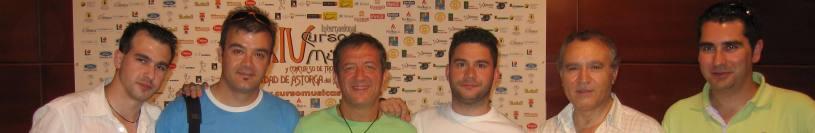 En la Master Class de José Ortí en el CIM Ciudad de Astorga, julio de 2007