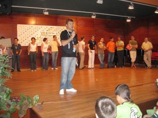 En la presentación del CIM Ciudad de Astorga, julio de 2007