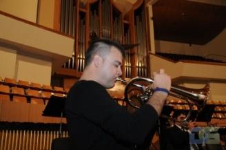 En el Palau de la Música de Valencia, enero de 2010