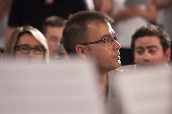 Con PROESO en el concierto del proyecto 2010/2011 en el Paranimfo de la Complejo Educativo de Cheste (Valencia)