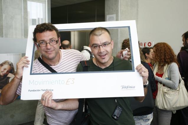 En la sesión de formación del Movimiento E3 de la Fundación Telefónica EDUCARED, Barcelona mayo de 2011