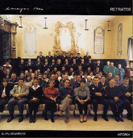 Con la Plantilla de trabajadores del Ecmo. Ayuntamiento de Astorga, 2002