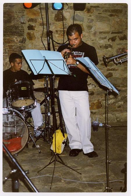 Con HOT TRUMPETS, julio de 1999