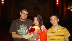 Con Bruno Cardeñosa Y Silvia Casasola De La Rosa De Los Vientos De