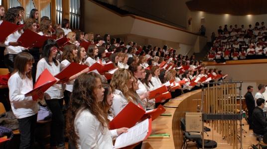 Coro PROESO. Palau de la Música de Valencia, 14.03.2010