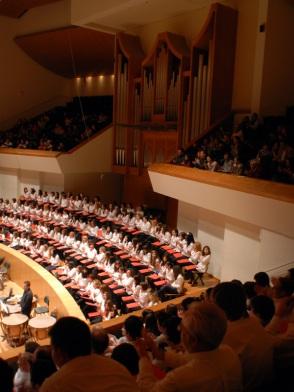 Coro PROESO. Palau de la Música de Valencia