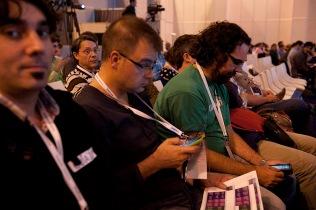En el congreso EDUCARED de la Fundación Telefónica, octubre de 2011