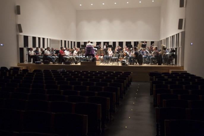 Ensayo PROESO Proyecto 2011/2012 en Auditorio REX Castelló de la Ribera