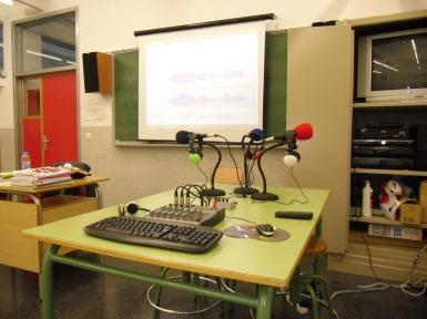 Taller de radio IES Hermanos Amorós, Villena (Alicante)