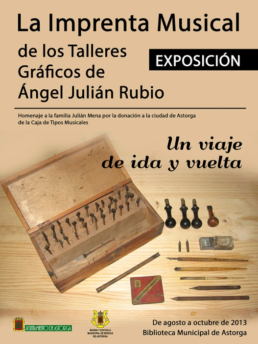 Cartel Exposición Imprenta