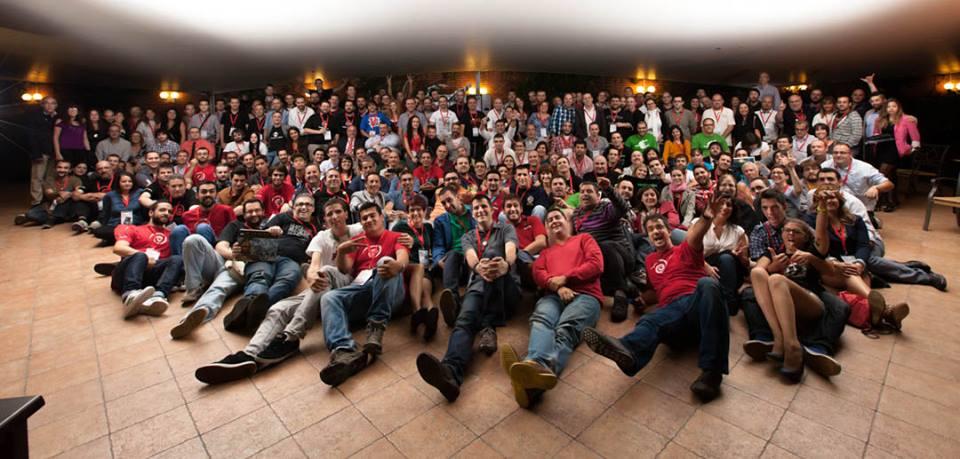 En Madrid en las Jornadas Podcasting, octubre de 2013