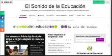 El Sonido de la Educación en Periódico