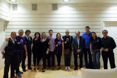 "Palau de les Arts Reina Sofia de Valencia con Bomberos Sin Fronteras en el proyecto ""Música, imatges i emocions""."