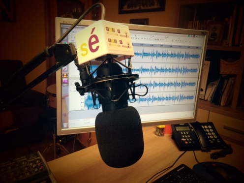 Estudio de Podcas de El Sonido de la Educación y de ICM