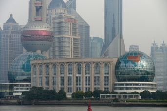 Oriental Pearl Tower and Shanghai International Conference Center - Shanghai, China, 16.22.2014
