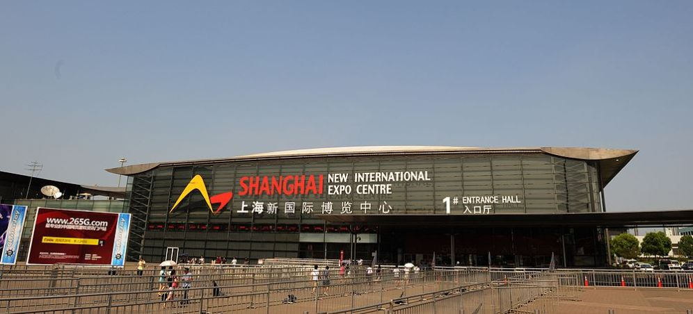 Shanghai new international expo center