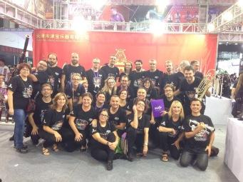 Con PROESO en MUSIC CHINA, Shanghái octubre de 2017