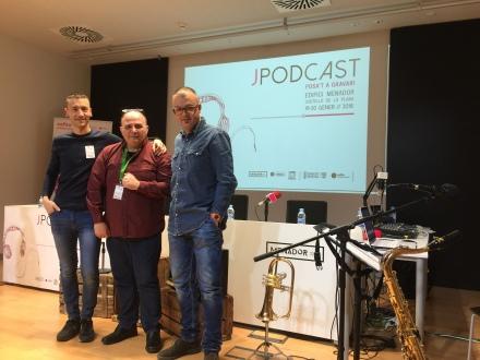 JPODCAST Cefire Artisticoexpressiu MENADO Espai Cultural 19 i 20 de gener de 2018 Amb Ximo Montañés, Roberto García i Ignasi Climent