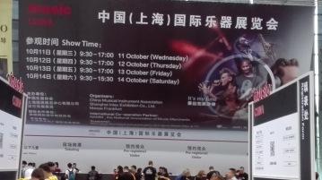 MUSIC CHINA, Shanghái octubre de 2017